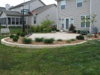 Backyard Basketball Court and landscaping idea Good ...