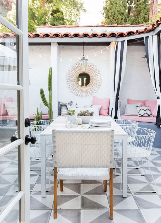 PATIO MAKEOVER REVEAL | D E S I G N L O V E F E S T | Bloglovin'