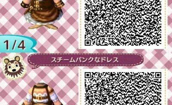 Animal Crossing New Leaf Qr Code Steampunk Things