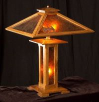 craftsman style table lamp plans - Google Search ...