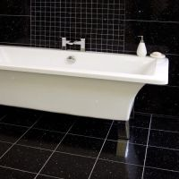 Gemstone Black Wall and Floor TileGemstone Black Wall and ...