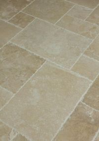 Travertine Tile - Antique Pattern Sets   Travertine ...