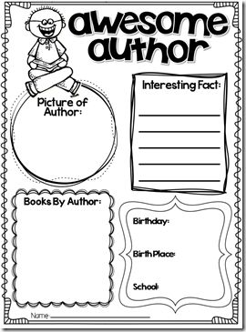 Dr. seuss, About the author and Author studies on Pinterest