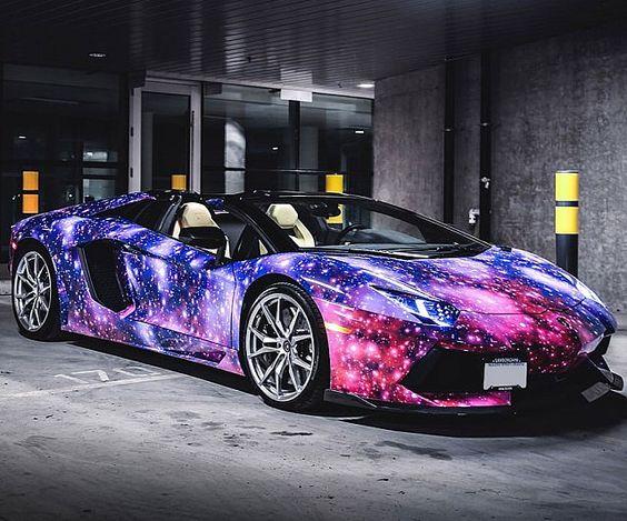 Dope Wallpaper Super Cars Galaxy Paint Job Lamborghini Galaxies Paint And Lamborghini