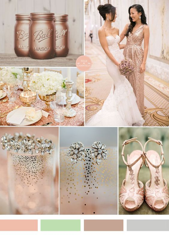 Wedding Color Trends 2015  Jewel Tones  Wedding Gold