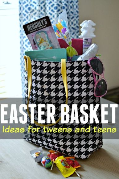 Looking for ways to treat your tween or teen this Easter? How about try these basket filler ideas.:
