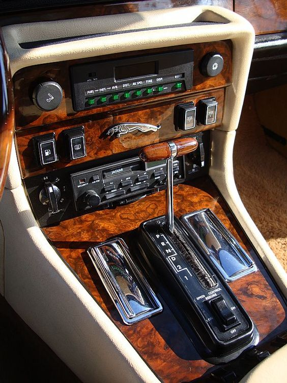 The Interior Of The Jaguar XJ6 Series III Is Still In