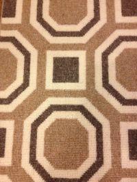 David Hicks designed wool carpet. Great looking Octagon ...