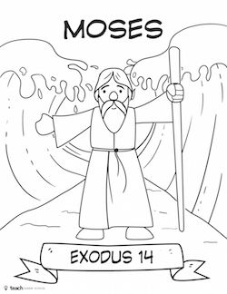 Bible Heroes Cut and Color Craft Pack — Teach Sunday