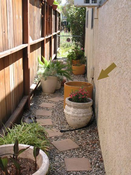 side yards narrow garden