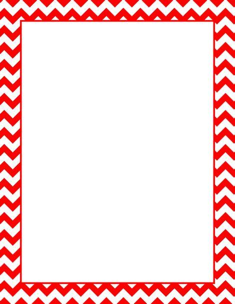 Red Chevron Frame Clip Art Wwwimgkidcom The Image
