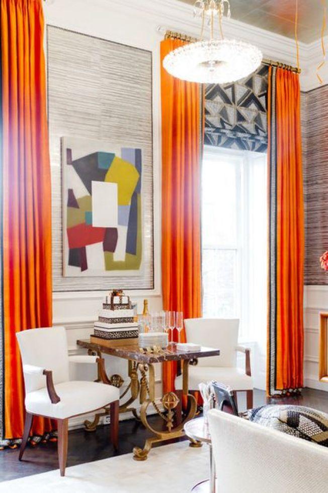Italian fabric in a geometric pattern: