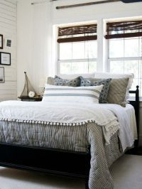 CHIC COASTAL LIVING - This is similar to the bedding we ...