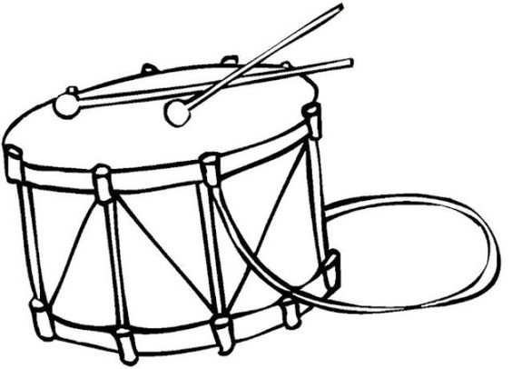 Drums, Coloring pages and Coloring on Pinterest