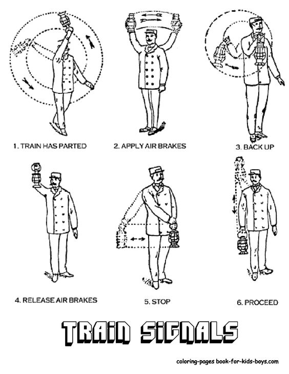 Coloring, Conductors and Coloring pages on Pinterest