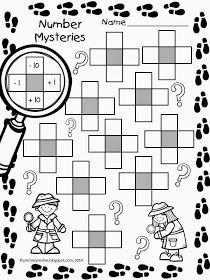 The Primary Techie: Number Mysteries for Math Detectives