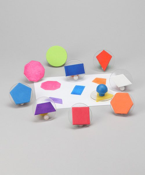 Geometric shapes Stamp sets and Stamps on Pinterest