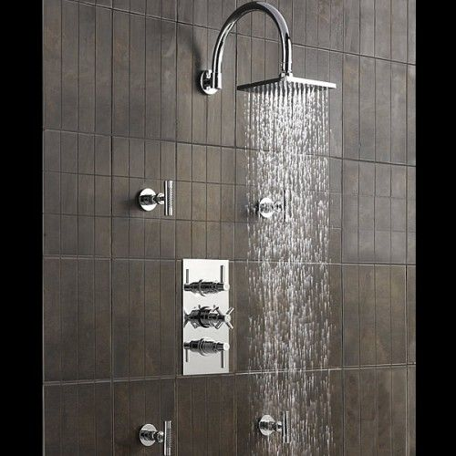 Shower valve Shower faucet and Body spray on Pinterest