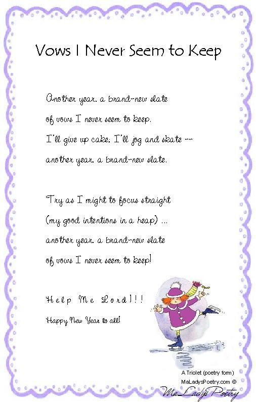 new years eve poems funny | Dedicard.co