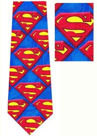 DC Comics Superman Silk Tie is a collector necktie ...