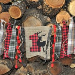 High Chair Decorations 1st Birthday Boy Cover Hire Kingston Upon Thames Highchair, Baby First And Plaid Flannel On Pinterest