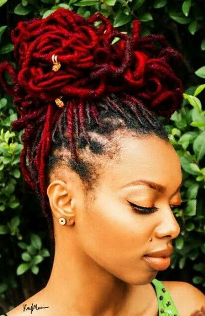 New Post Ruby Red Locks On Hair Players Club Everything