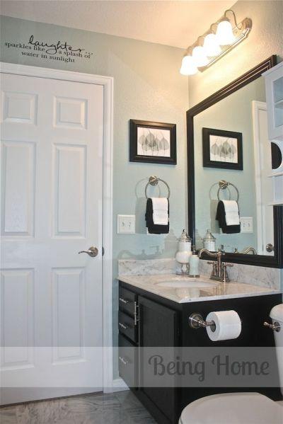 martha stewart bathroom paint color ideas Being Home: Bathroom - Before & After - Rainwater, by Martha Stewart paint | Paint ideas