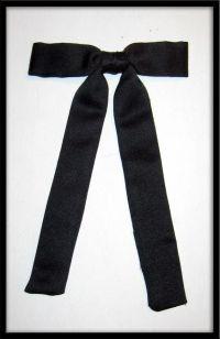 Mens Black Rockabilly Western Neck Bow Tie | Rockabilly ...