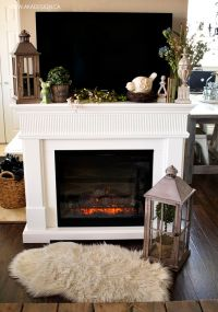 Home tours, Fireplaces and Mantels on Pinterest