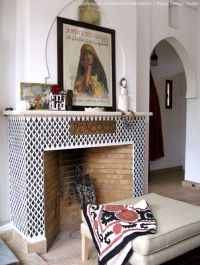Fireplaces, Furniture and Moroccan pattern on Pinterest