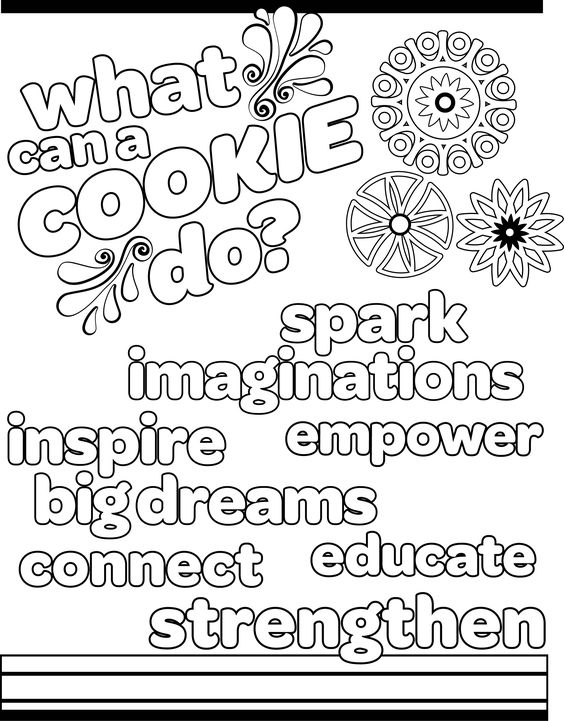 Cadette Girl Scout Pages Coloring Pages