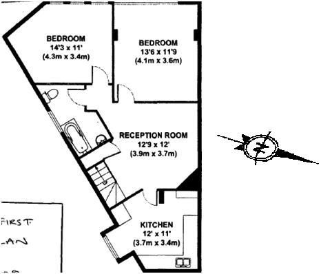 Floor plans, Triangles and Shape on Pinterest