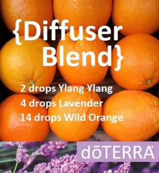 If you're looking for the perfect springtime EO blend to enjoy in your diffuser, try this blend. #doterradiffuserrecipes: