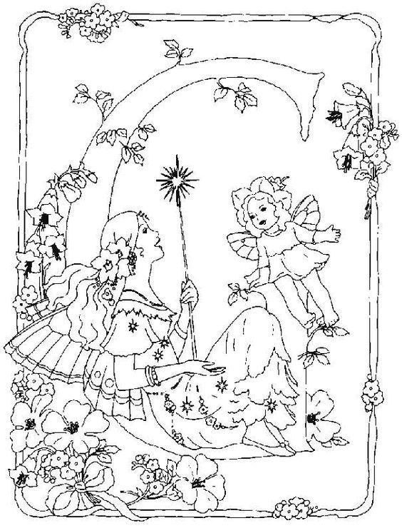 Alphabet, Flower fairies and Fairies on Pinterest