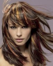 two tone hair color black