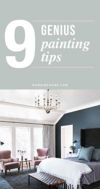 9 Genius Painting Tricks You Never Knew | Painting tricks ...