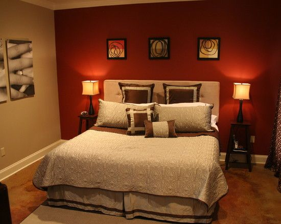 1000+ ideas about Red Bedroom Walls on Pinterest