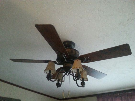 Rustic ceiling fans Lowes and Ceiling fans on Pinterest