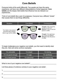 All Worksheets  Reality Therapy Worksheets - Printable ...