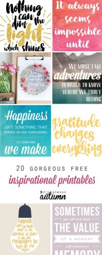 Free inspirational quotes, Galleries and Handmade gifts on ...