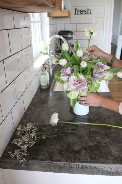 hgtv kitchen backsplash kmart countertops, grout and subway tiles on pinterest
