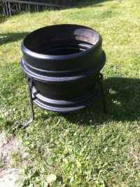 Fire pits, Fire and Wheels on Pinterest