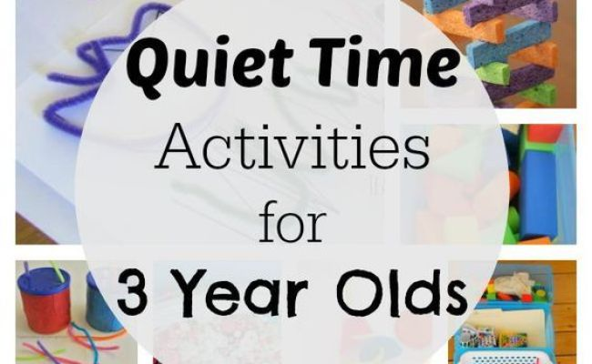 54 Mess Free Quiet Time Activities For 3 Year Olds For