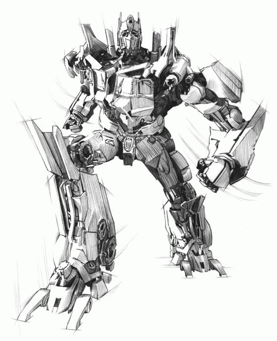 Transformers: Dark of the Moon Illustrations by Ted