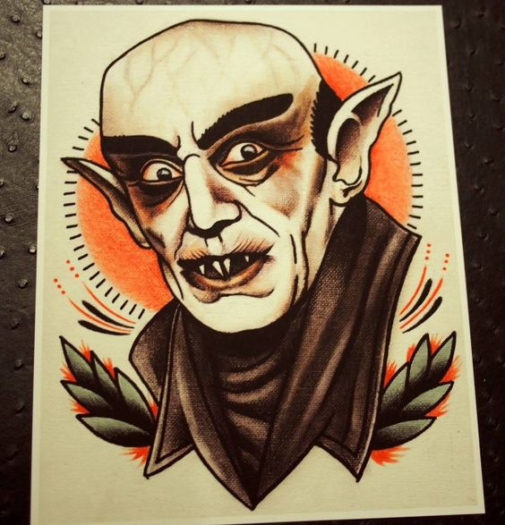 20 Scary Movie Character Tattoos Ideas And Designs
