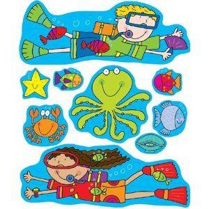 Cute Bulletin Boards The Ojays And Sea Bulletin Board On Pinterest