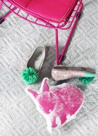 Pink Mid Century Replica Child's Chair