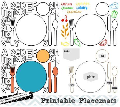 Thanksgiving Placemats Free Printable Mama Miss Pj