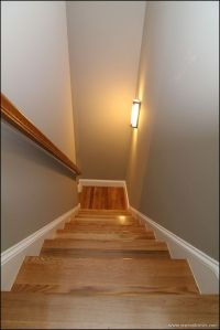 Second story, Staircases and Sconces on Pinterest