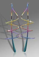 Harry Mason spiral niobium earrings | Jewelzzz I ...